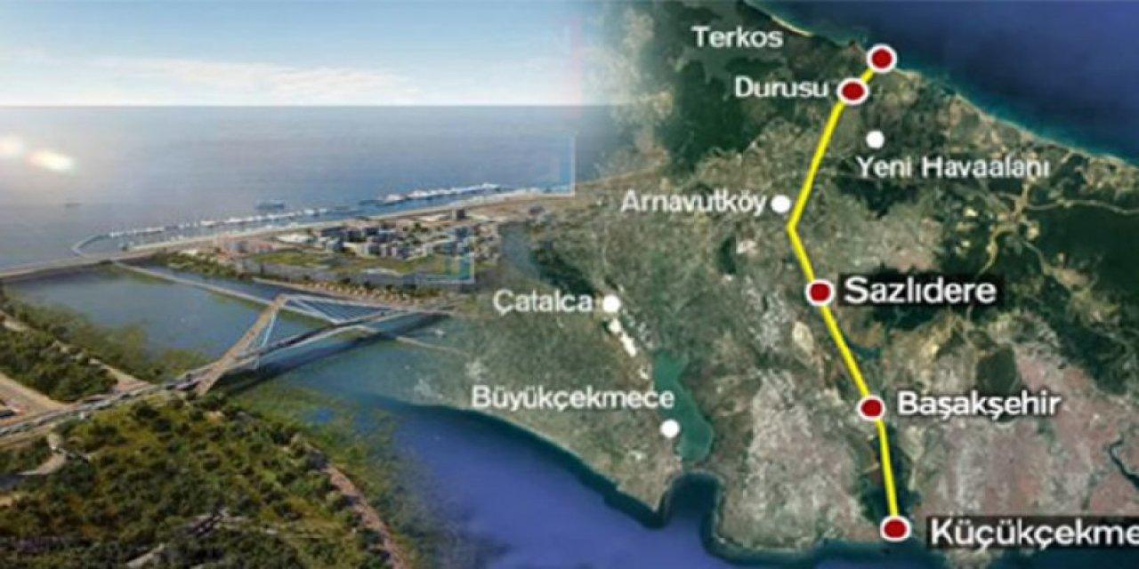 Kanal İstanbul raporunu yayınladı: Kanal İstanbul'un maliyeti 75 milyar liranın üzerinde