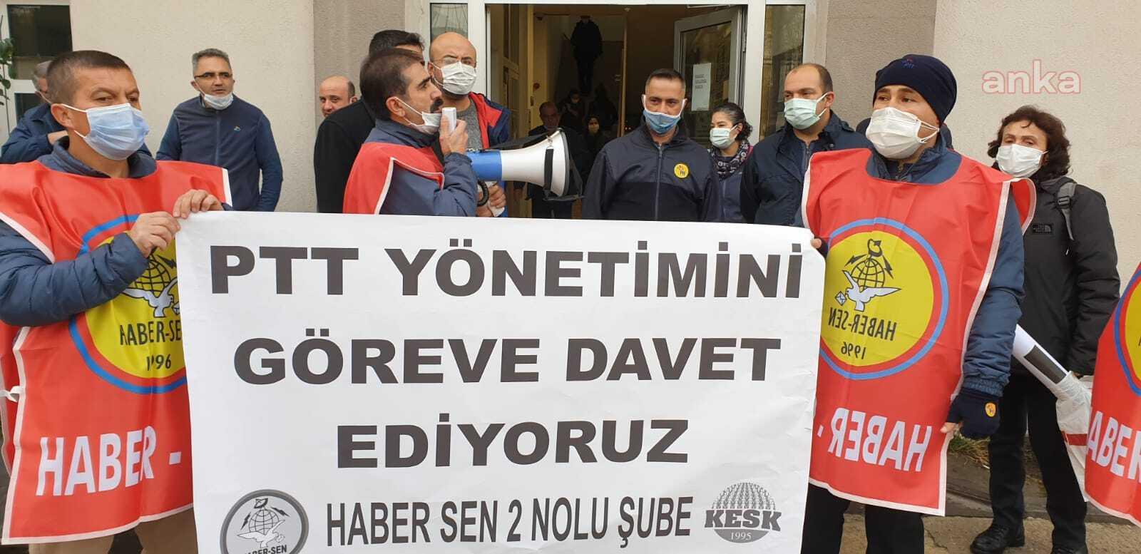 """PTT'ciler isyanda: """"Öleceğiz"""""""