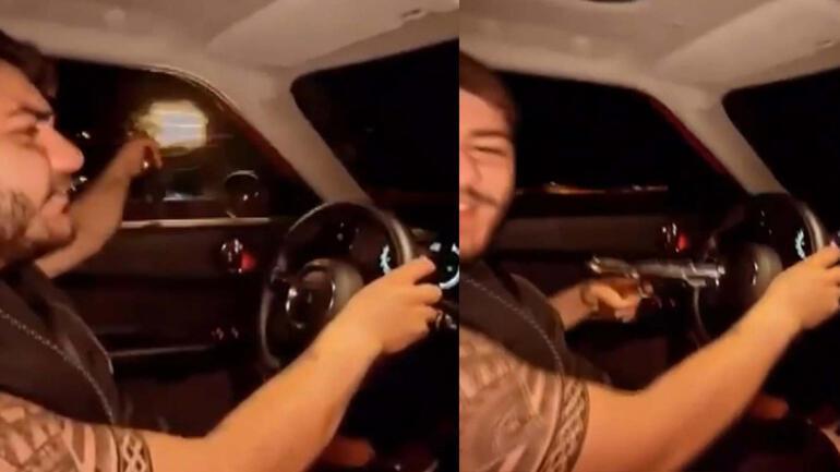 Murat Övüç'ün oğlu Burakcan Övüç tabancayla dehşet saçtı