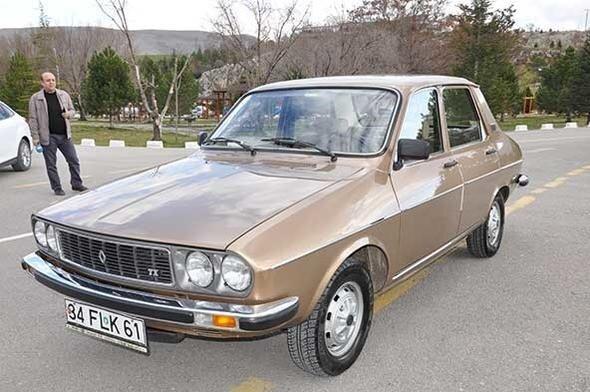 1988 Model arabası hala ilk günkü gibi... Paha biçilemiyor