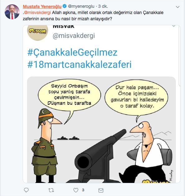 AKP'den gerici Misvak dergisine karikatür tepkisi