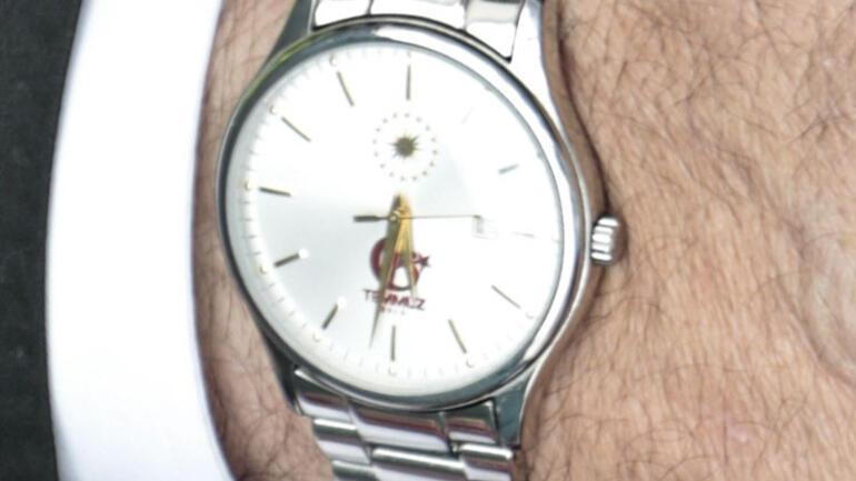 Erdoğan'a 15 Temmuz'a özel saat