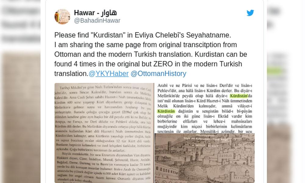 Bir 'Kürdistan' sansürü de YKY'den!