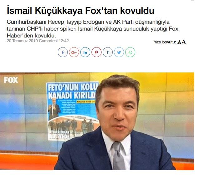 Açıklama geldi: İsmail Küçükkaya, FOX TV'den kovuldu mu?