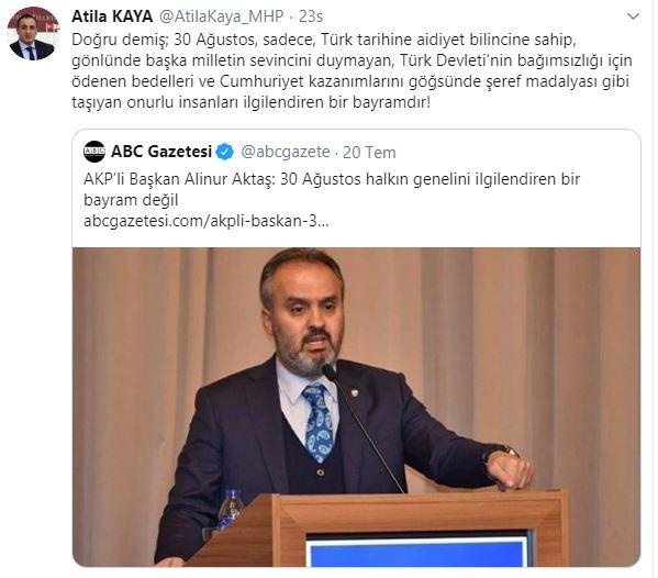 MHP'li isim sordu: AKP, neden 15 Temmuz'da Atatürk posteri asmadı?
