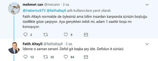 Fatih Altaylı köpürdü: Boş kafalı it kopuklar!