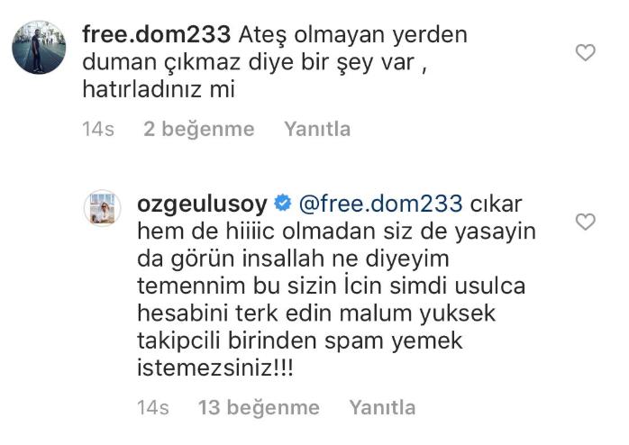 Özge Ulusoy, Albayrak iddialarına ilk kez bu kadar net yanıt verdi