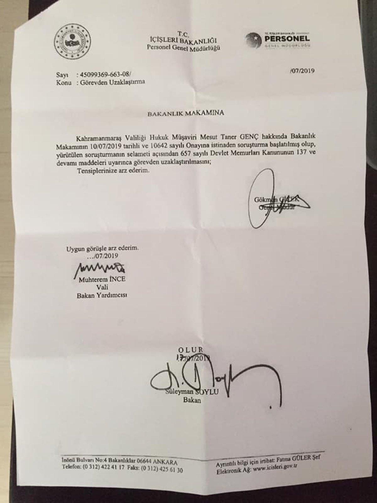 Erdoğan'ın başdanışmanı hakkında flaş iddia
