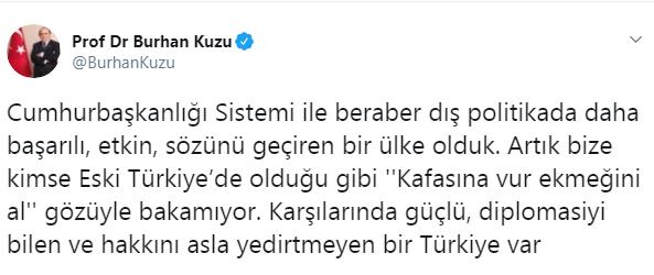 AKP'li Kuzu Lozan'ın yıl dönümünde İnönü'yü hedef aldı