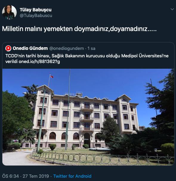 Eski AKP'li vekil partisini bombaladı: Milletin malını yemeye doymadınız!