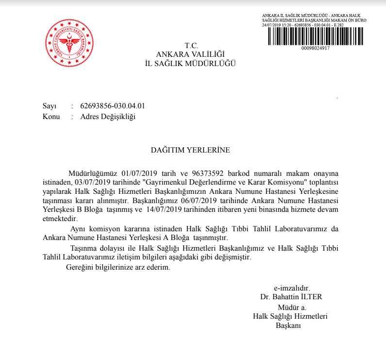 Medipol'e devredileceği konuşulan Numune Hastanesi'nin durumu belli oldu