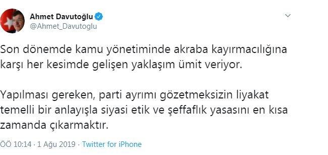 Davutoğlu yeni liman arayışında: Kılıçdaroğlu'na 'destek' çıktı
