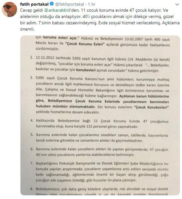 Mansur Yavaş'tan Fatih Portakal'a jet yanıt