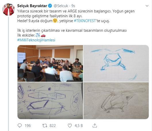 Yorumu okura bırakıyoruz: Erdoğan'ın damadı, 'uçan araba'yı duyurdu