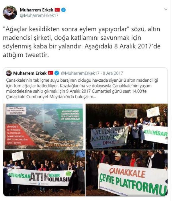 Kazdağları'na saldırı vatana saldırıdır: AKP'li vekil böyle savundu