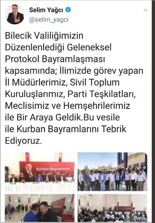 FETÖ paylaşımlarıyla bilinen AKP'li başkandan bir skandal daha!