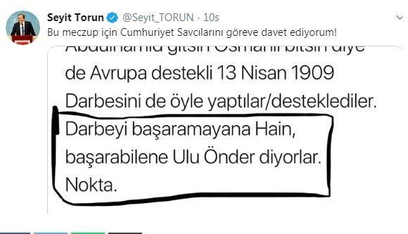 Şeriatçı tetikçi yine kudurdu: Atatürk'ü hedef aldı, hakaret etti!