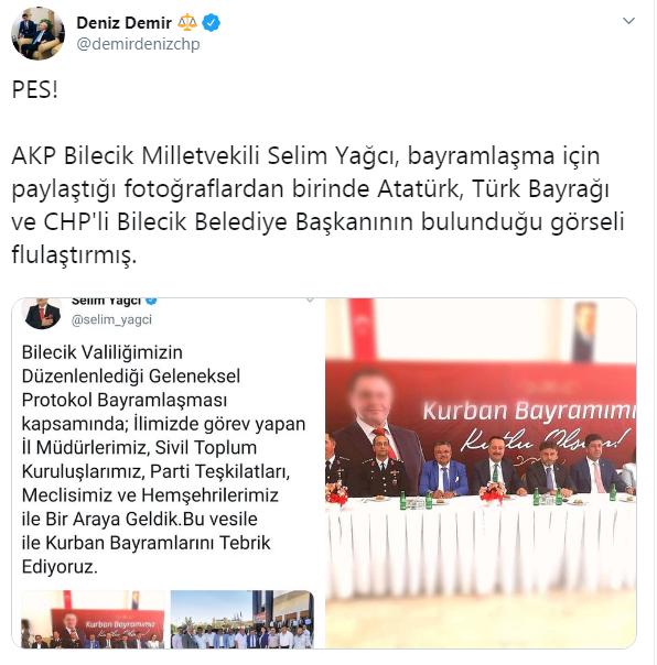 Erdoğan'ın temizlikçisi olmak isteyen AKP'li vekilden skandal paylaşım