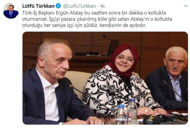 İYİ Parti'den Ergün Atalay'a sert tepki: İşçiyi pazara çıkarılmış köle gibi satan...