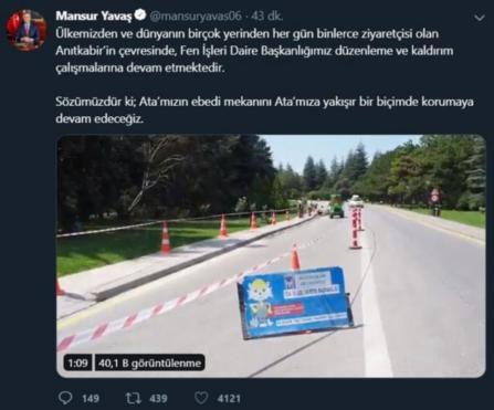 Mansur Yavaş'tan dikkat çeken 'Anıtkabir' talimatı