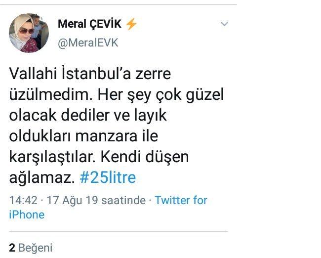 AKP'li müdür yardımcısı: Vallahi İstanbul'a zerre üzülmedim