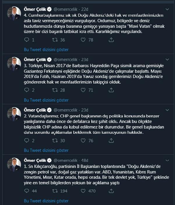 AKP'den 'Doğu Akdeniz' açıklaması: CHP başkanının bilgisizliği...