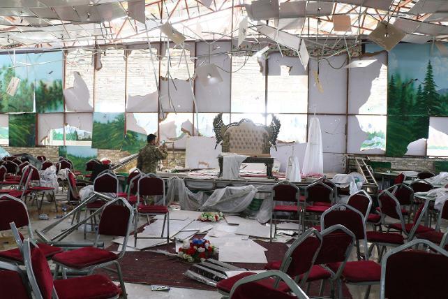 Afganistan'da düğünde saldırı: 63 ölü, 182 yaralı