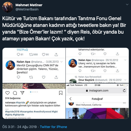 AKP'li Metiner'den istifa çağrısı: Bize kaybettirenleri baştacı etmeyelim!