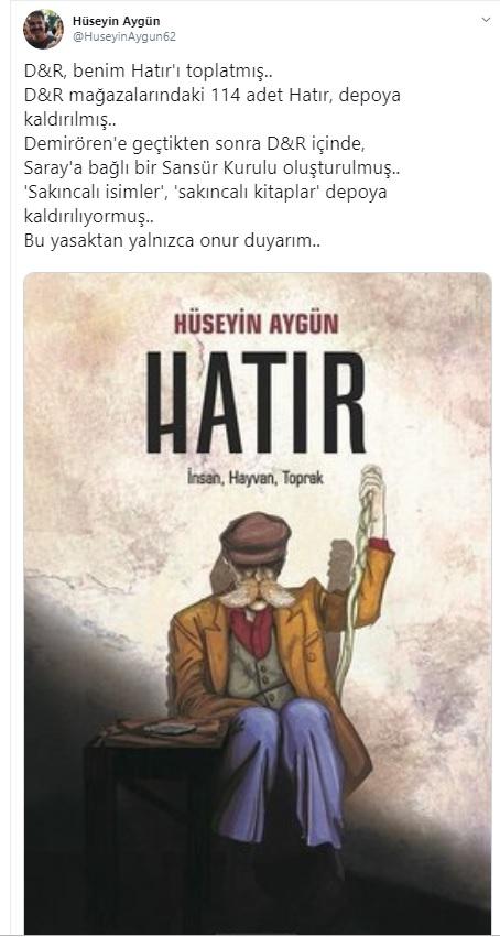 Hüseyin Aygün'ün kitaplarını topladılar mı?