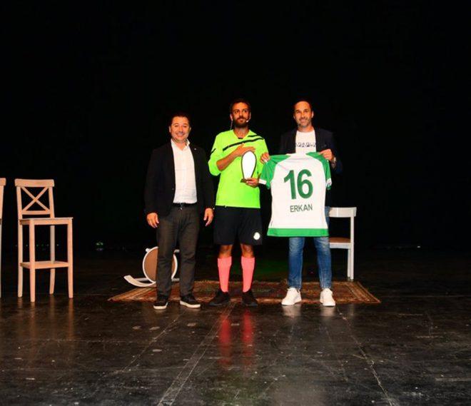 Ünlü oyuncudan Bursaspor'a büyük destek