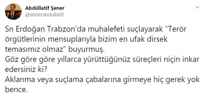 AKP'nin eski bakanından Erdoğan'a anlamlı hatırlatma: Göz göre göre inkar!