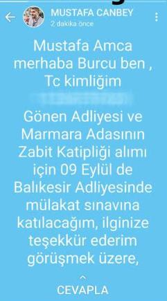 AKP'li vekil, torpil mesajını yanlışlıkla paylaştı
