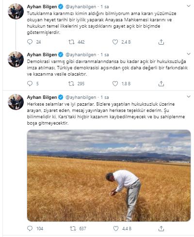 Ayhan Bilgen: Kars'taki hiçbir kazanım kaybedilmeyecek