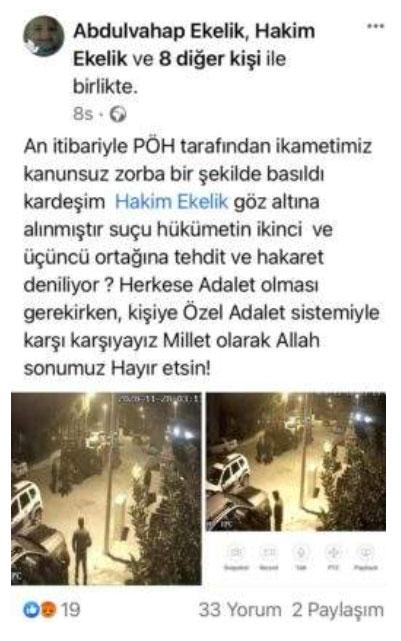 Alaattin Çakıcı'ya hakaret ettiği için tutuklandı iddiası!