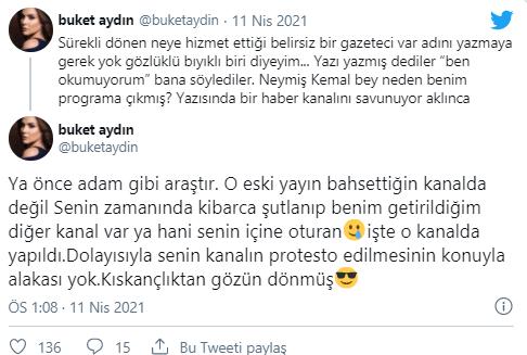Bu sözler çok konuşulacak! Buket Aydın'dan Ahmet Hakan'a olay sözler!